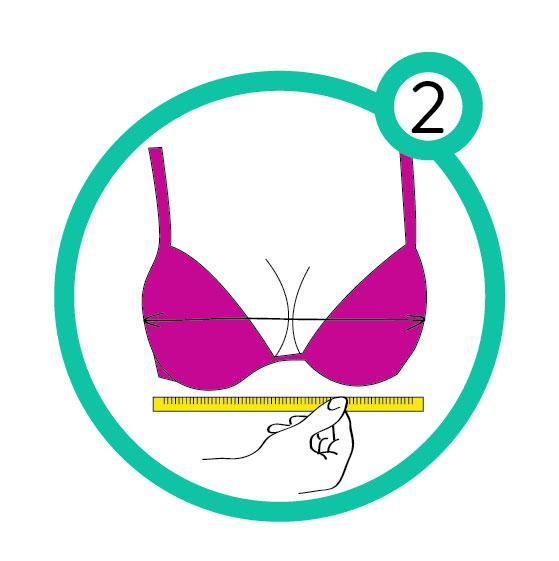 So findest Du die richtige BH-Größe! Einfache Anleitung