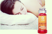 Fruity Love Massage Apricot/Orange Massageöl von Swede