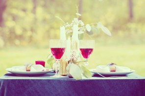 Das perfekte Candle-Light-Dinner