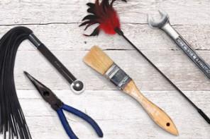 BDSM Baumarkt Alternativen zu Baumarkt-Produkten für BDSM Bondage Toys