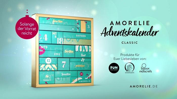 Adventskalender aus dem AMORELIE TV-Spot
