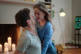 Paar aus dem AMORELIE TV-Spot