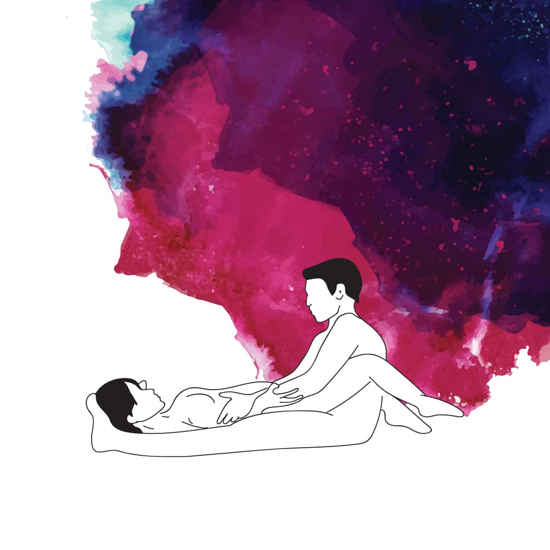 Stellung für Sex in der Schwangerschaft - Wacholder