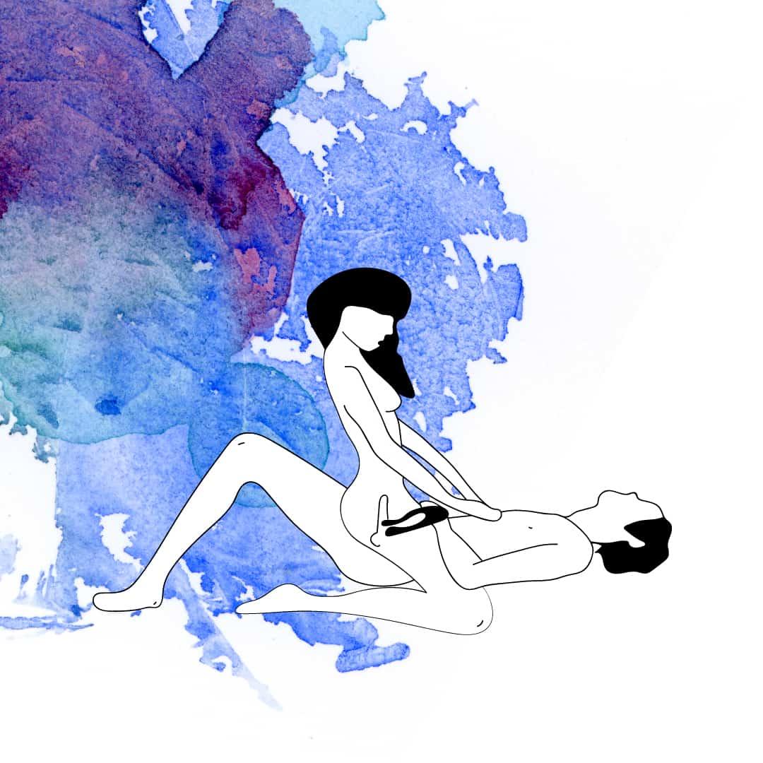 Sexstellung mit Doppio-Paarvibrator