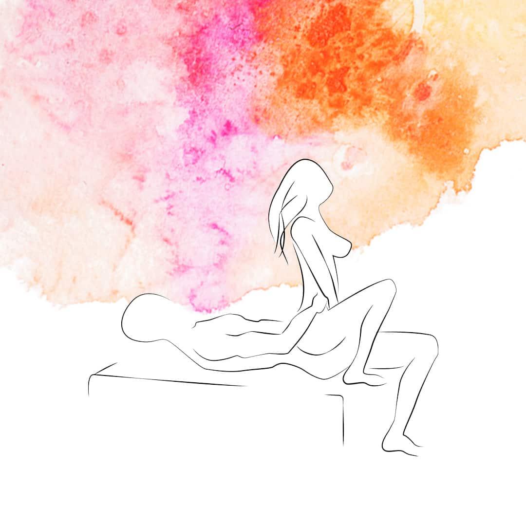 Sexhoroskop Krebs - Sexstellungen für die Krebs-Frau