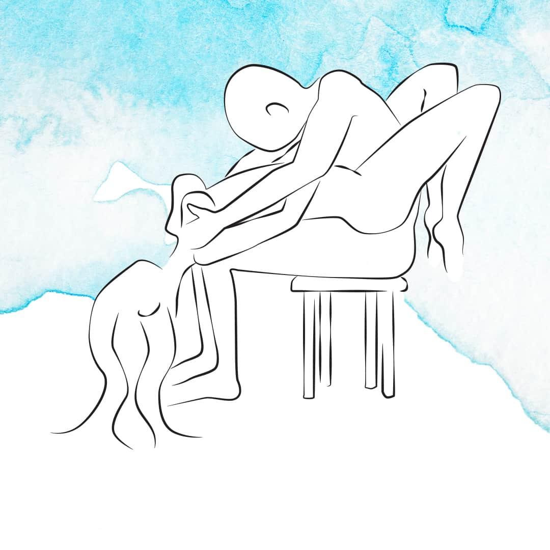 Sexhoroskop Fische - Sexstellungen für die Fische-Frau