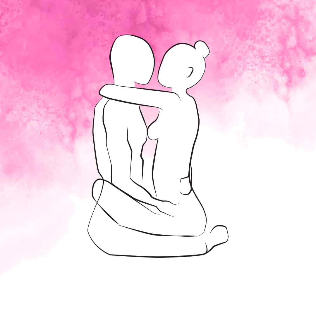 Sexstellung Lotusblüte