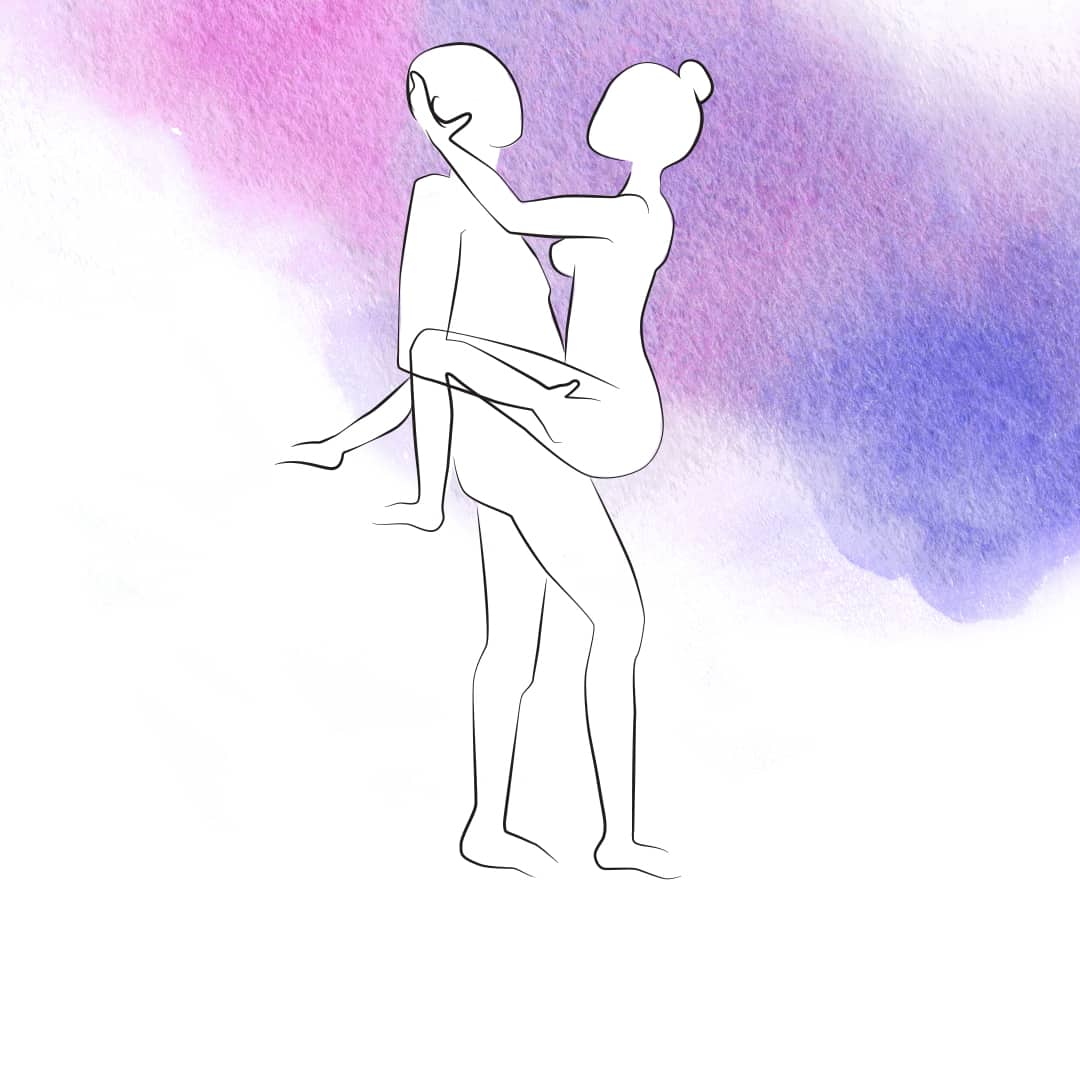 Stellung für Sex im Stehen