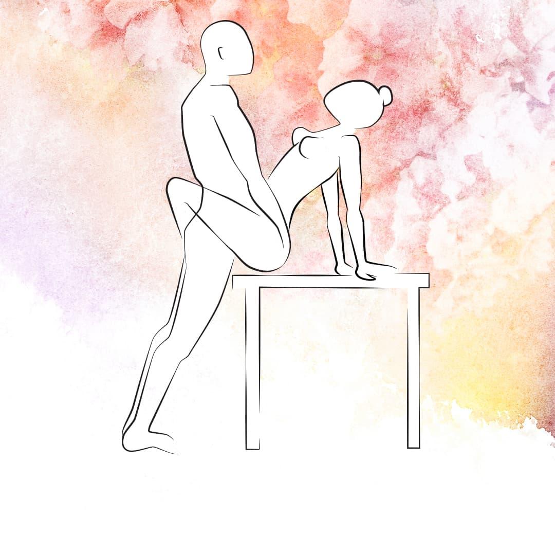 Sexhoroskop Wassermann - Sexstellungen für die Wassermann-Frau