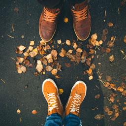 Date Ideen - Spaziergang