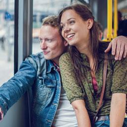 Orte für das erste Date - Busfahrt