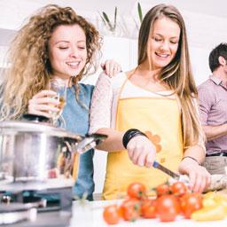 Wohin beim ersten Date Ideen - Kochkurs