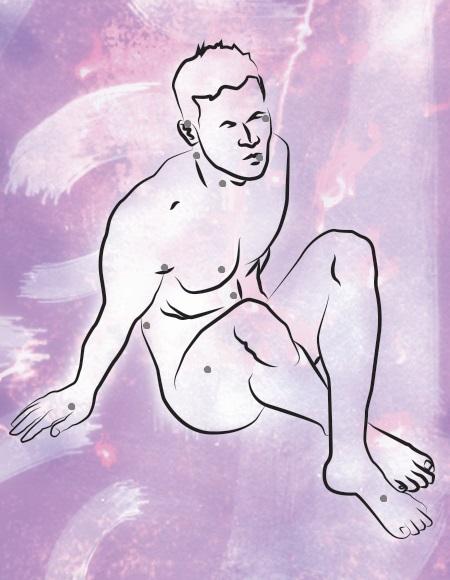 Erogene Zonen des männlichen Körpers