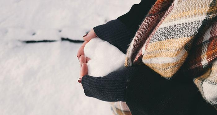 Im Winter als Single glücklich sein