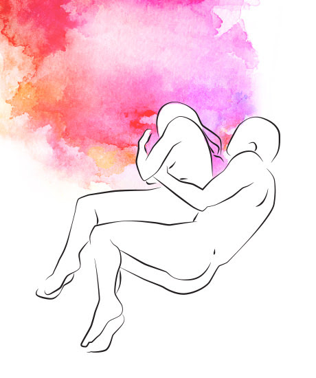 Löffelchen-Sexstellung