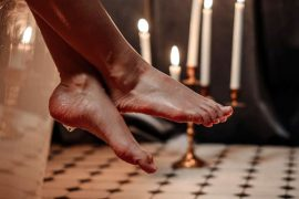 Fußfetisch hat viele Formen